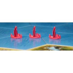 Разширение - Catan Мореплаватели - компоненти