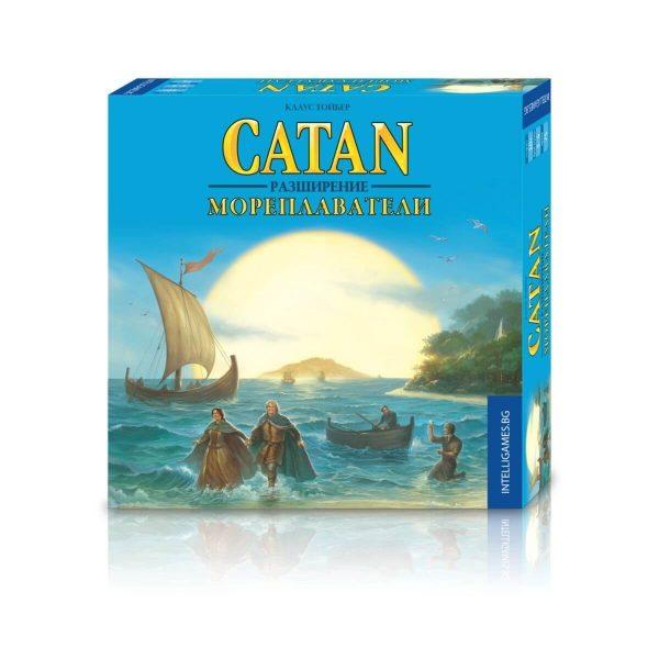 Разширение - Catan Мореплаватели - кутия