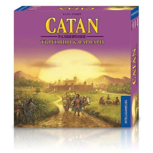 Разширение - Catan Търговци и Варвари - кутия