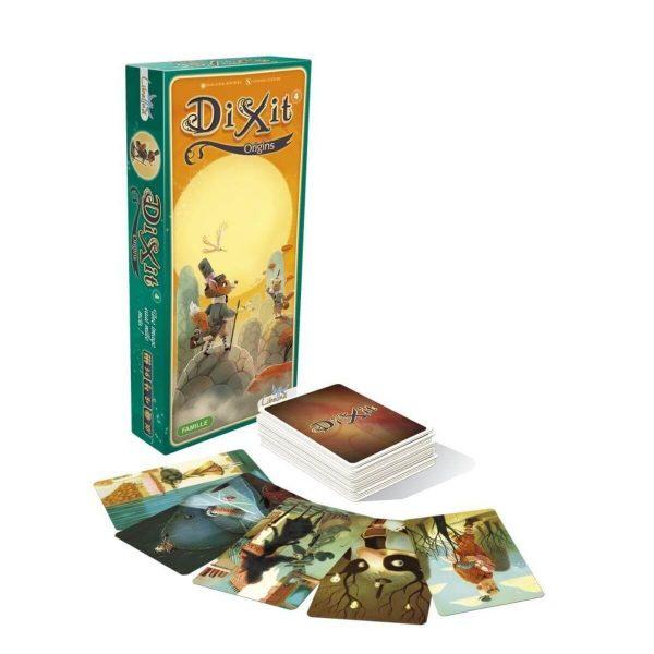 Dixit: Origins - разширение - компоненти