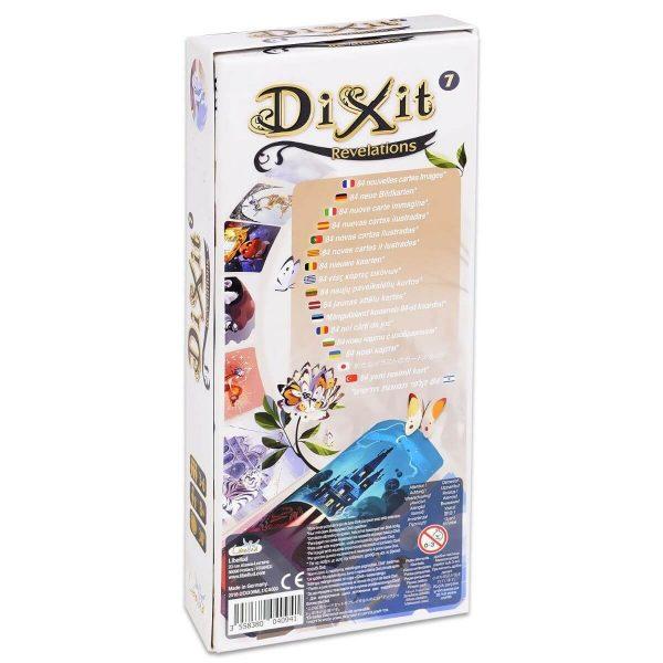 Dixit: Revelations - разширение - кутия - гръб